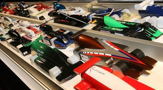 Precision Racing competes in 2015 F1 in Schools World Finals